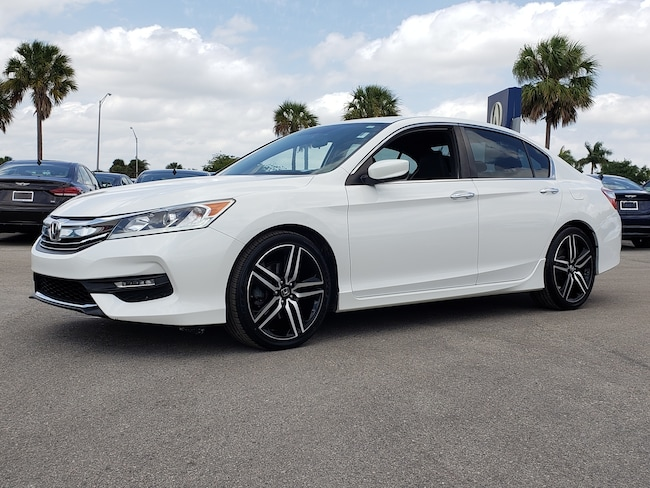 Used 2016 Honda Accord Sport Sedan Fort Lauderdale