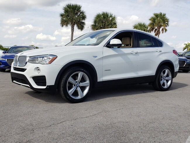 Used 2017 BMW X4 xDrive28i Sports Activity Coupe Fort Lauderdale