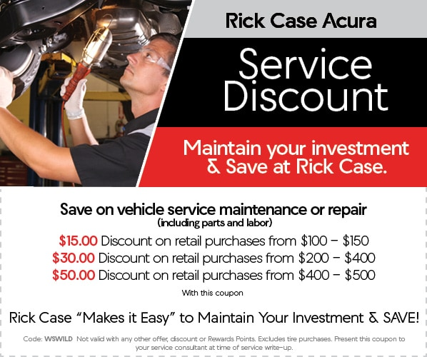 acura service specials in fort lauderdale fl acura service specials in fort