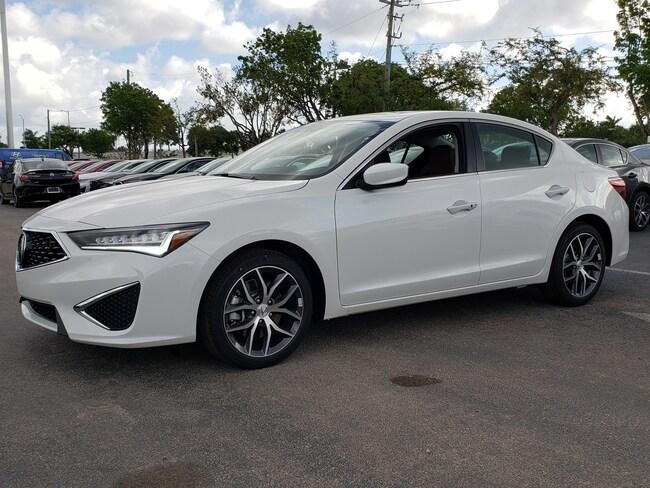 New 2019 Acura ILX with Premium Sedan Fort Lauderdale
