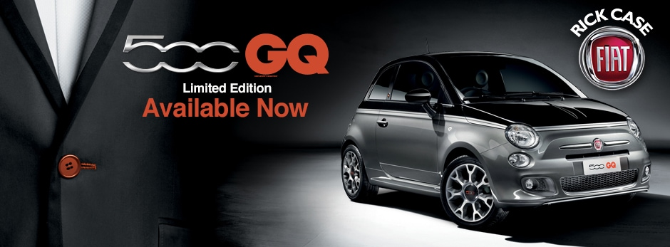 fiat 500c gq edition available for miami area drivers. Black Bedroom Furniture Sets. Home Design Ideas