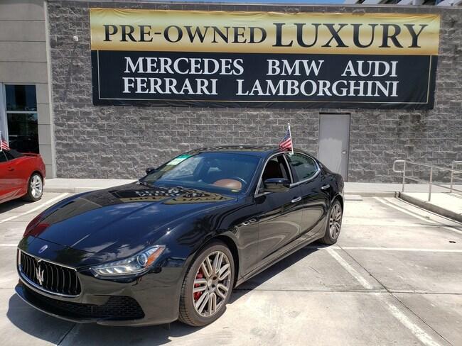 Used 2016 Maserati Ghibli 4DR SDN S Near Miami