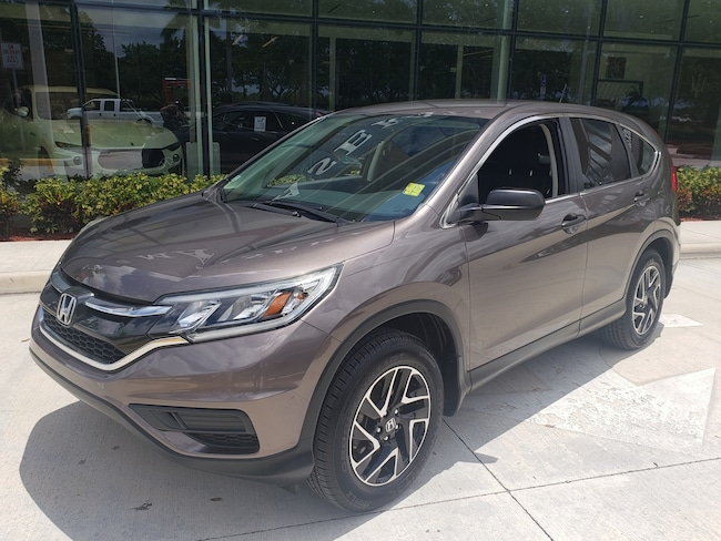 Used 2016 Honda CR-V SE SUV Near Miami