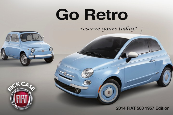 FIAT 500 1957 Edition ad at Rick Case FIAT