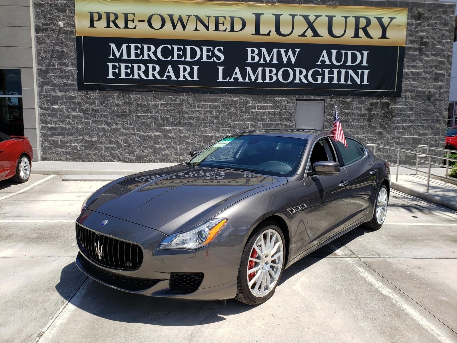 2015 Maserati Quattroporte GT S Sedan