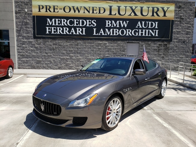 Used 2015 Maserati Quattroporte GT S Sedan Near Miami