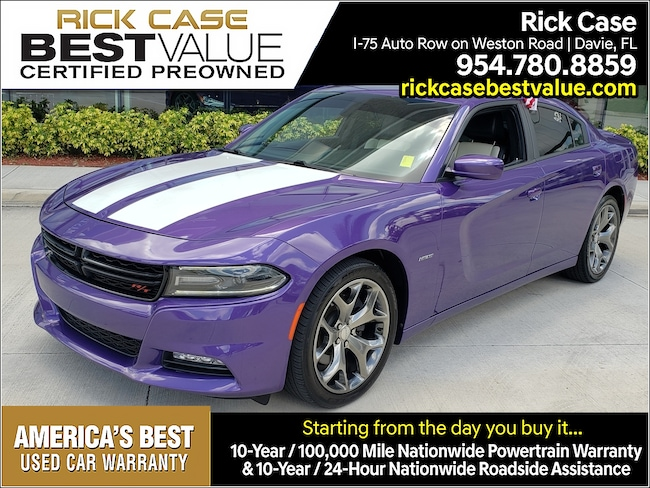 Used 2016 Dodge Charger 4DR SDN R/T RWD Near Miami