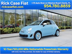New 2018 FIAT 500 1957 RETRO EDITION Hatchback Near Miami