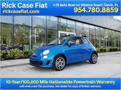 New 2019 FIAT 500 POP CABRIO Convertible Near Miami