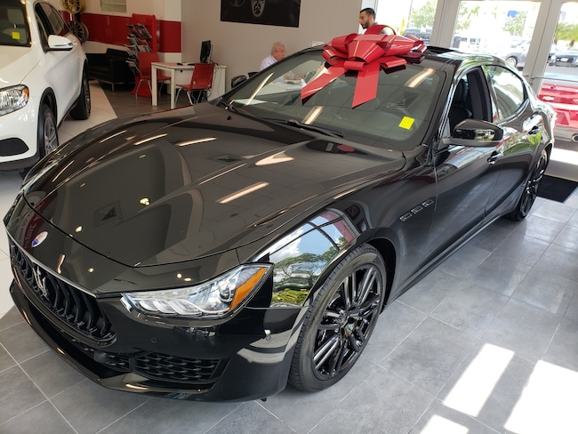 Used 2019 Maserati Ghibli Base Sedan Near Miami