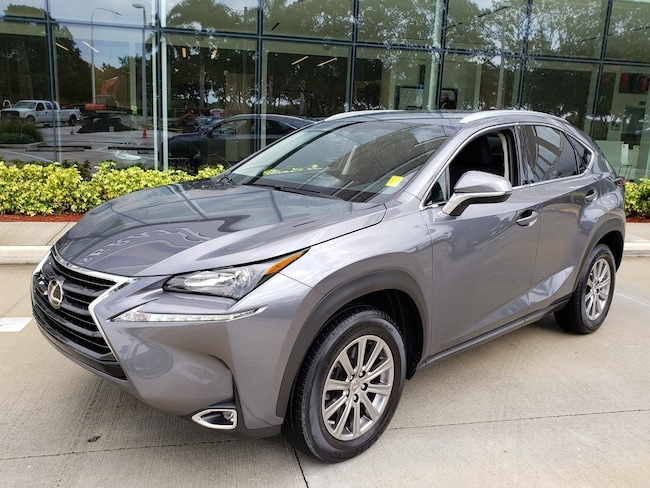Used 2016 LEXUS NX 200t SUV Near Miami