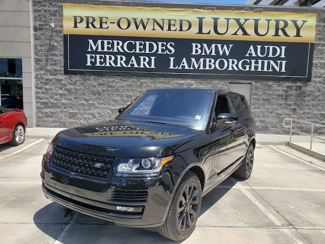 Used 2017 Land Rover Range Rover V6 Supercharged HSE SWB Near Miami