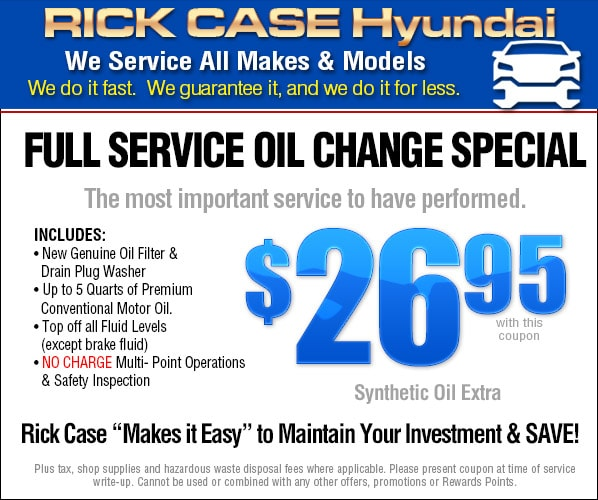 specials olathe htm repair offer oil hyundai change service coupons car
