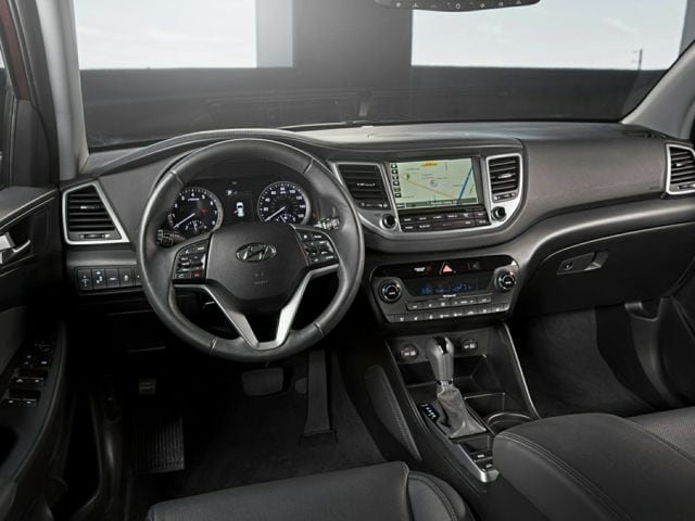 The New Hyundai Tucson interior
