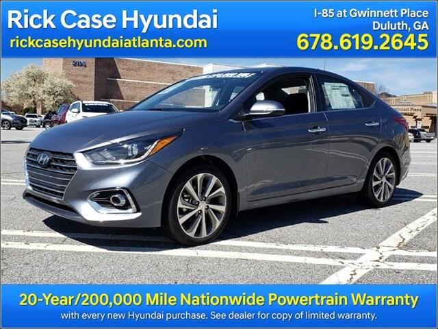 2018 New Hyundai Accent Limited Sedan Atlanta Area Yje031206