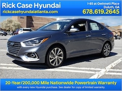 New 2018 Hyundai Accent Limited Sedan Roswell