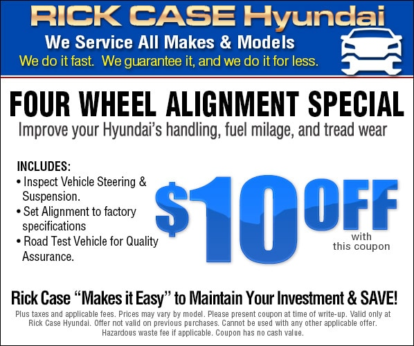 coupons miller h maintenance service htm larry hyundai coupon department specials package
