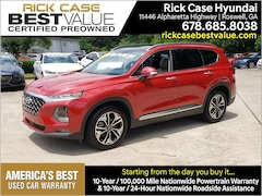 Certified 2019 Hyundai Santa Fe Limited 2.0T SUV Roswell