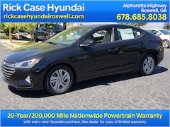 New 2019 Hyundai Elantra Value Edition Sedan Roswell
