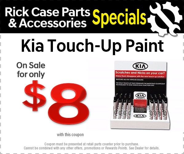 Kia Touch Up Paint ...