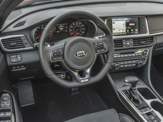 Kia Optima interior