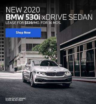 New 2020 BMW 530i