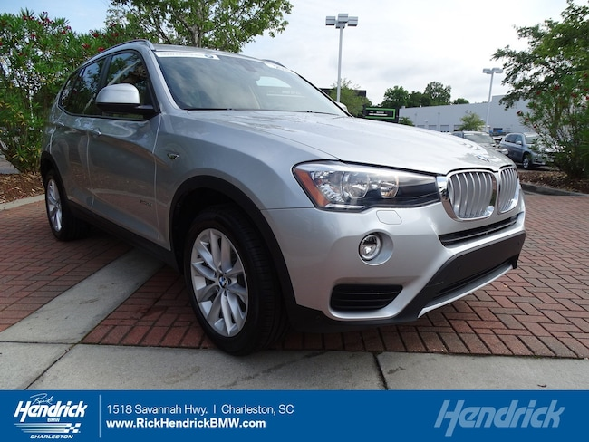 Pre Owned 2016 Bmw X3 For Sale Charleston Sc Vin