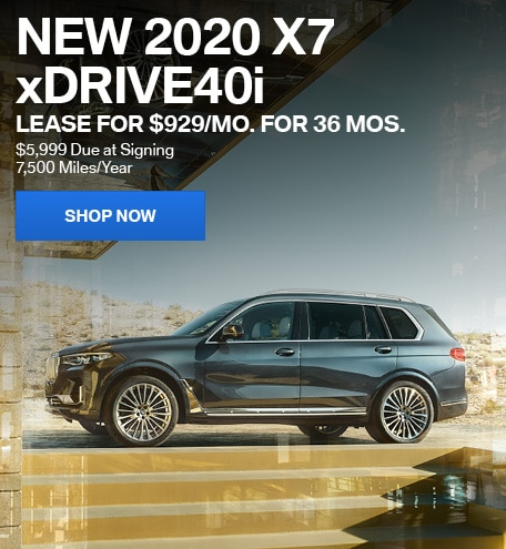 New 2020 X7 xDrive40i