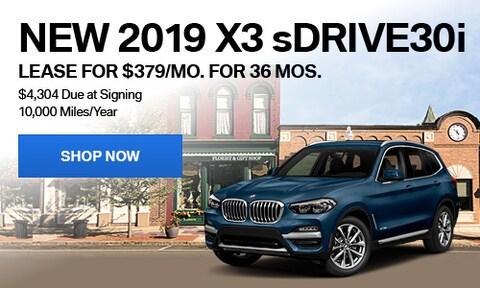 New 2019 X3 sDrive30i