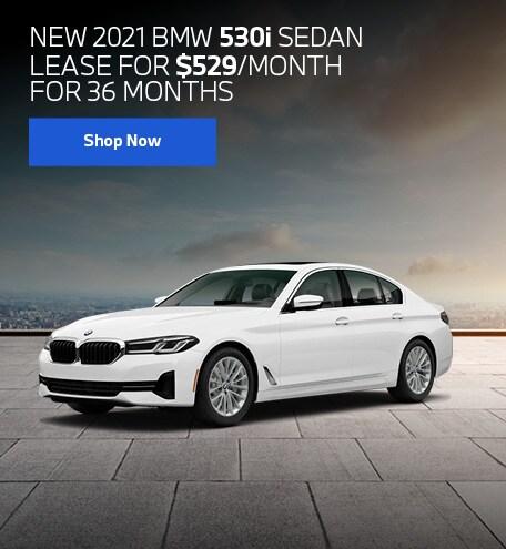 New 2021 BMW 530i