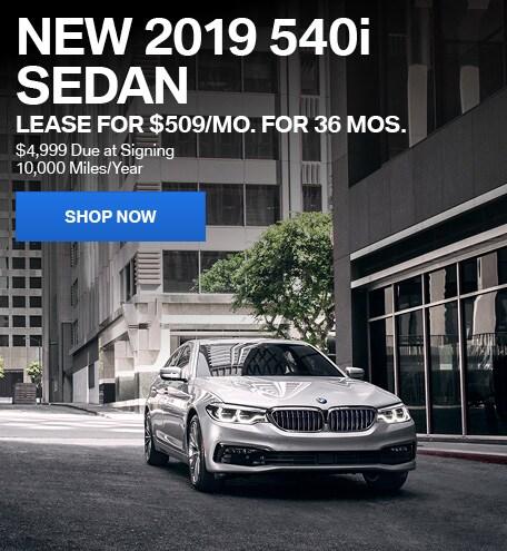 New 2019 BMW 540i
