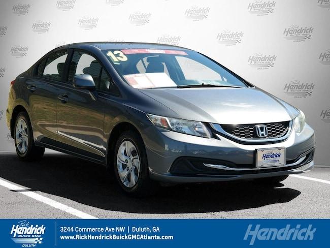 2013 Honda Civic For Sale >> Used 2013 Honda Civic For Sale At Hendrick Automotive Group Vin