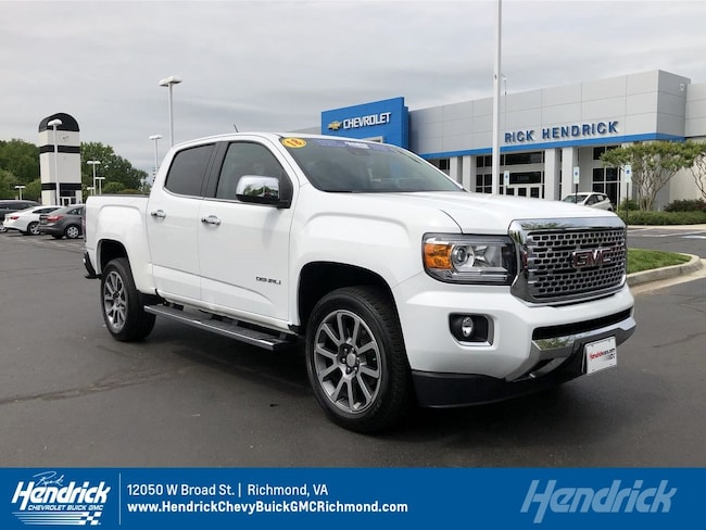 2018 GMC Canyon 4WD Denali Pickup