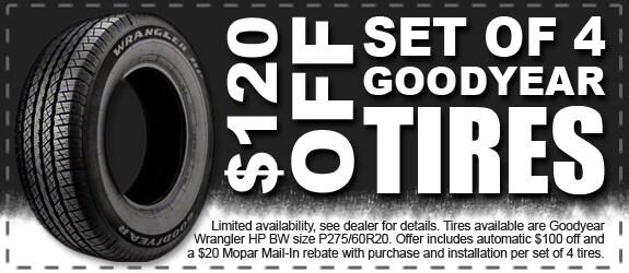 $120 off Wrangler HP BW Tires | Rick Hendrick Dodge ...