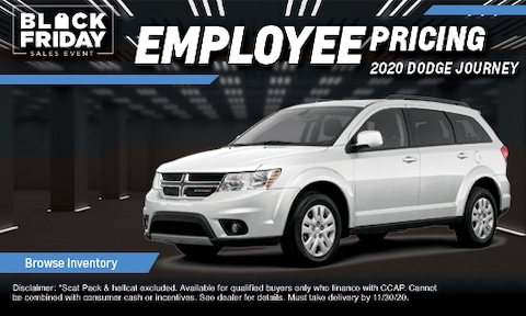Employee Pricing on 2020 Dodge Journey