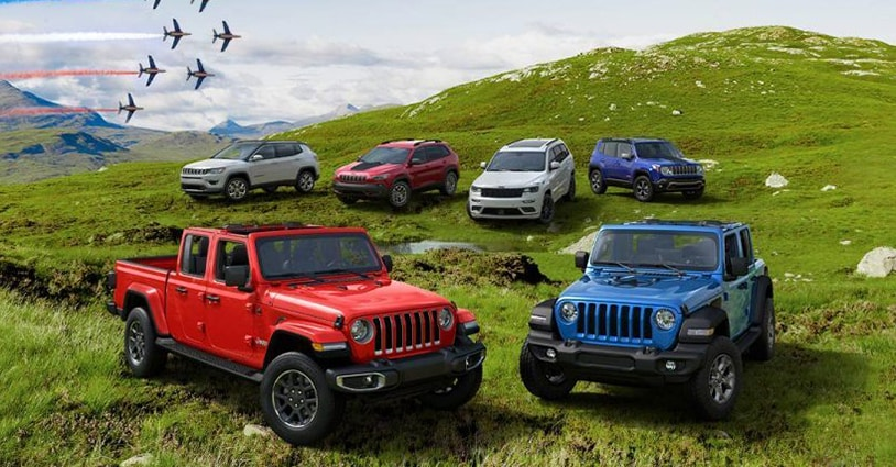 New Jeep Models Hendrick DCJR Charleston
