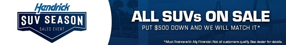 $500 SUV Offer
