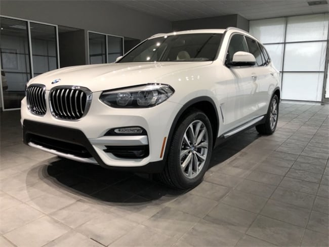 New 2018 BMW X3 Xdrive30i SUV Kingsport, TN