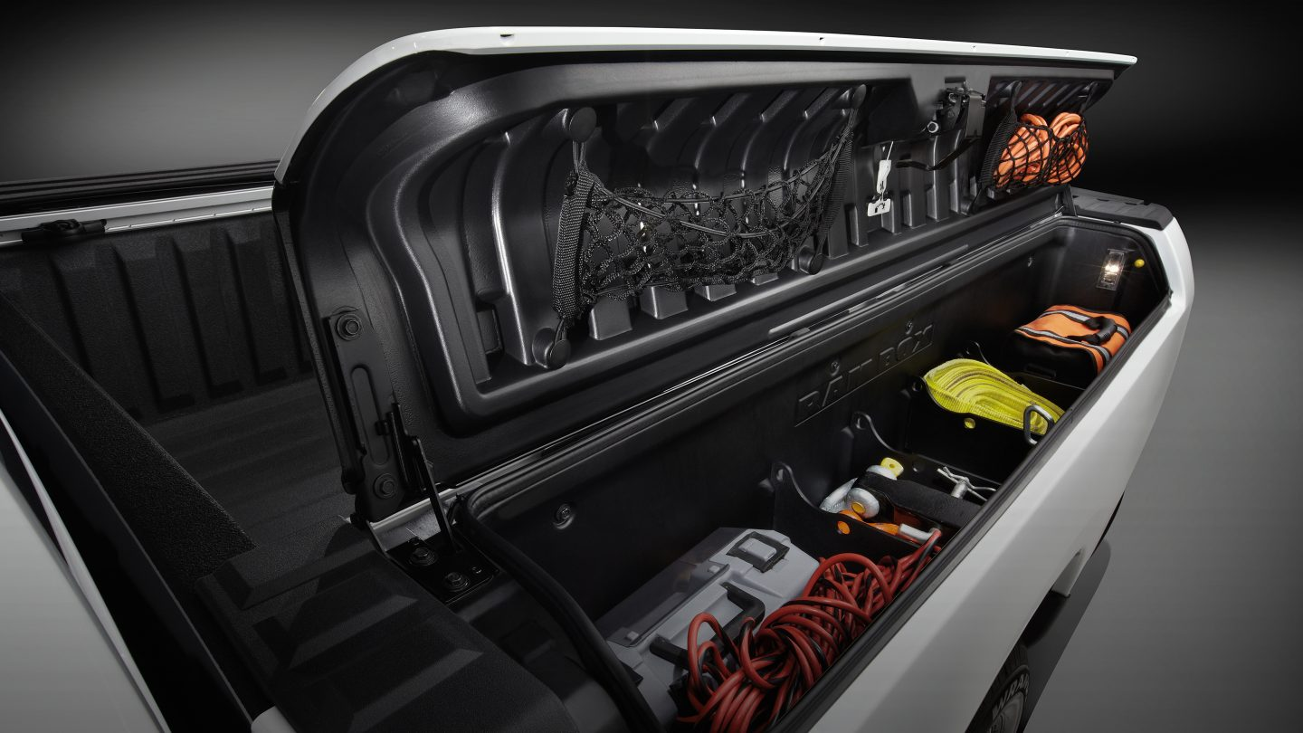 RAM Truck Bed Tool Box & Cargo Storage Space