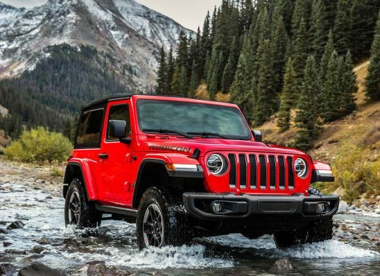 New Red 2018 Jeep Wrangler JL