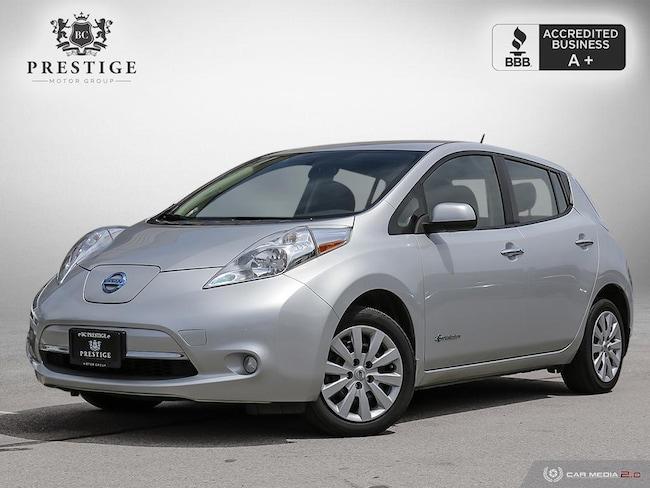 2016 Nissan LEAF EV electric vehicle