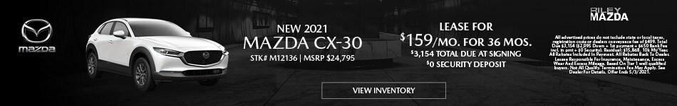NEW 2021 Mazda CX-30 - April
