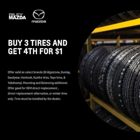 Buy 3 Tires & Get The 4th For $1