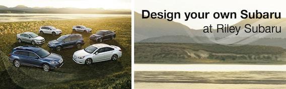 Build Your Own Subaru >> Build Your Subaru At Riley Subaru Dubuque Ia New Subaru