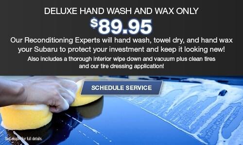 Deluxe Hand Wash & Wax