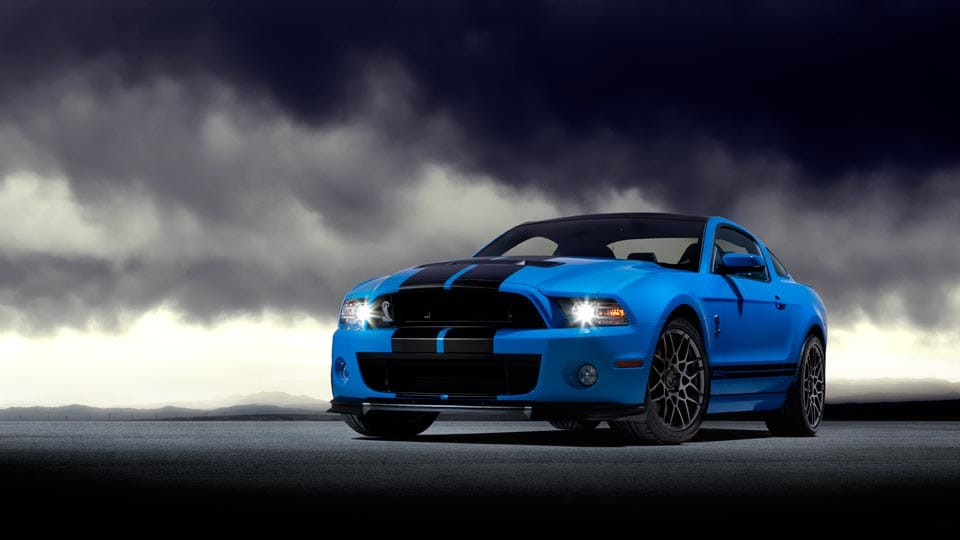 2014 Ford Mustang Shelby GT500 Exterior Front