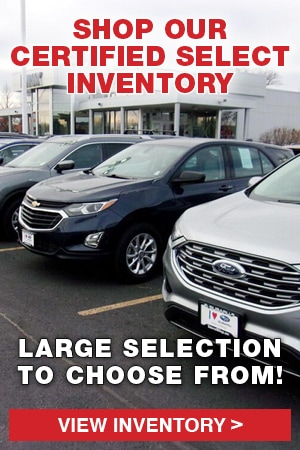 Shop Our Certified Select Inventory