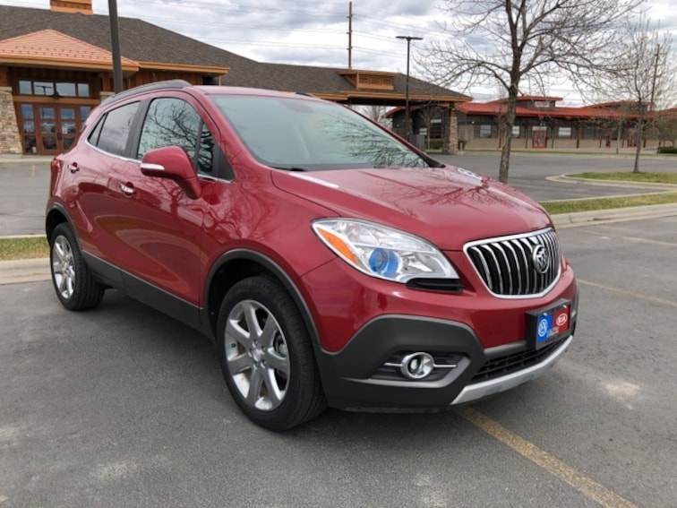 Pre-Owned 2014 Buick Encore Leather SUV V18046A in Billings MT