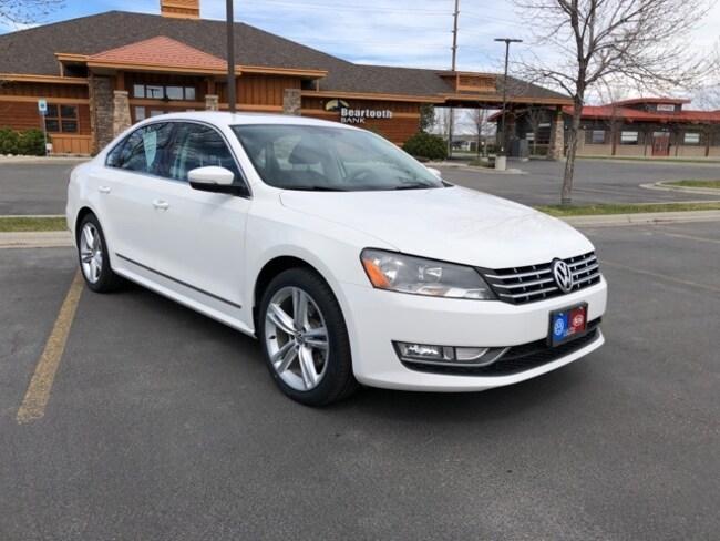 Pre-Owned 2014 Volkswagen Passat SEL Premium Sedan for sale in Billings, MT