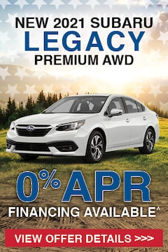 New 2021 Subaru Legacy Premium AWD